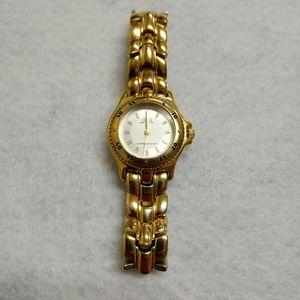Vintage Guess Waterpro Ladies Gold Watch